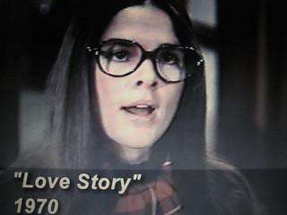 Ali McGraw in 'Love Story'