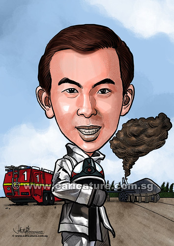 digital fireman caricature Changi Airport Group (Singapore) Pte Ltd (watermarked)