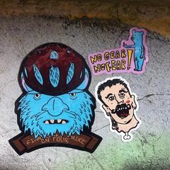 Central Six Bridge, Coventry #nogearnofear #misc #sticker #coventry #slapups #stickerart #stickeraddict #cov #centralsix #streetart #ukstreetart #wonder_walls #graff #graffiti