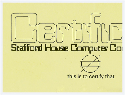 BLOG - Certificate#1