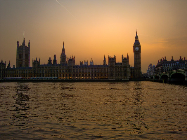 Westminster Palace and the Big Ben