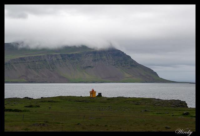 Faro en Fiordo Fáskrúðsfjörður