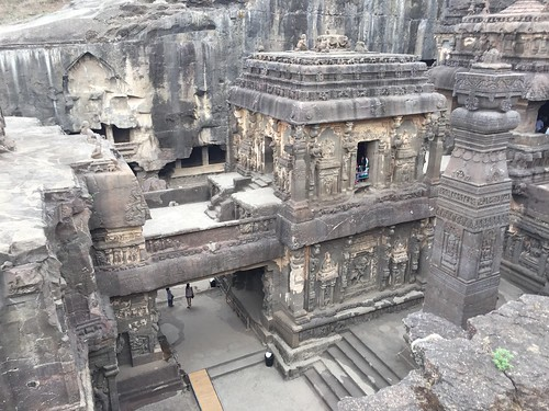 Cave 16 on Ellora caves
