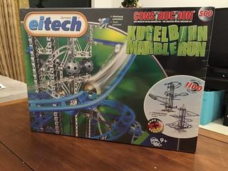 【玩具人阿丹投稿】大男孩的夢想~療癒系組裝玩具-德國eitech 彈珠雲霄飛車