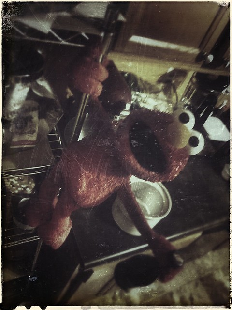 Elmo's forgotten bender.