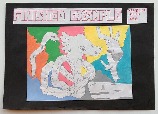 High School Artwork - Surrealism