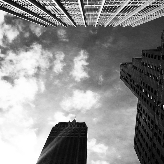 New York: grattacieli e cornici