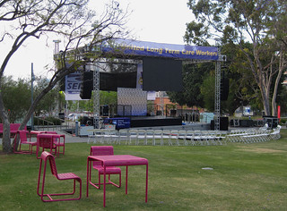 Stage in Place at Grand Park