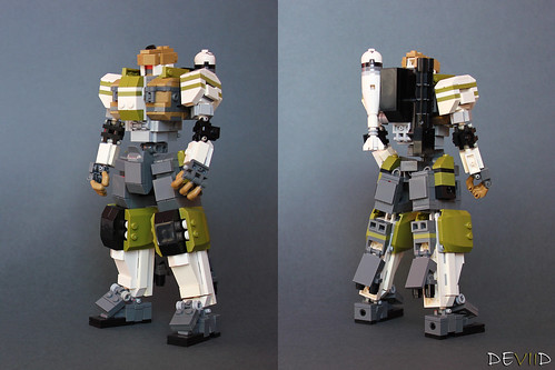 Army Mech (Ver.01) (details & back)