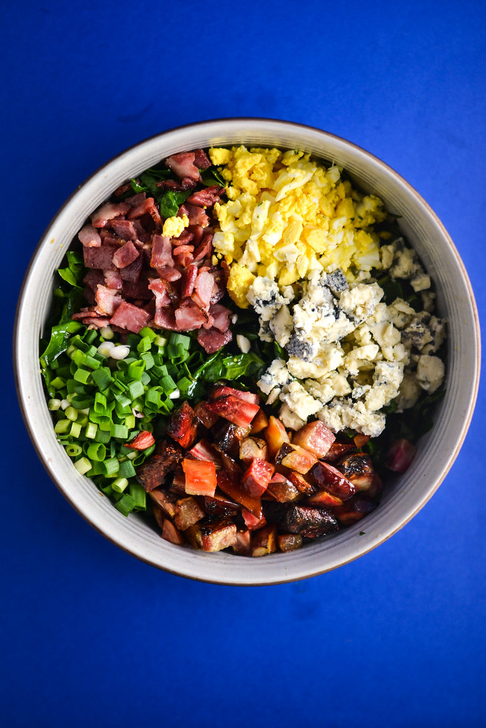 Spinach, Beet, Bacon and Blue Cheese Salad | Things I Made Today