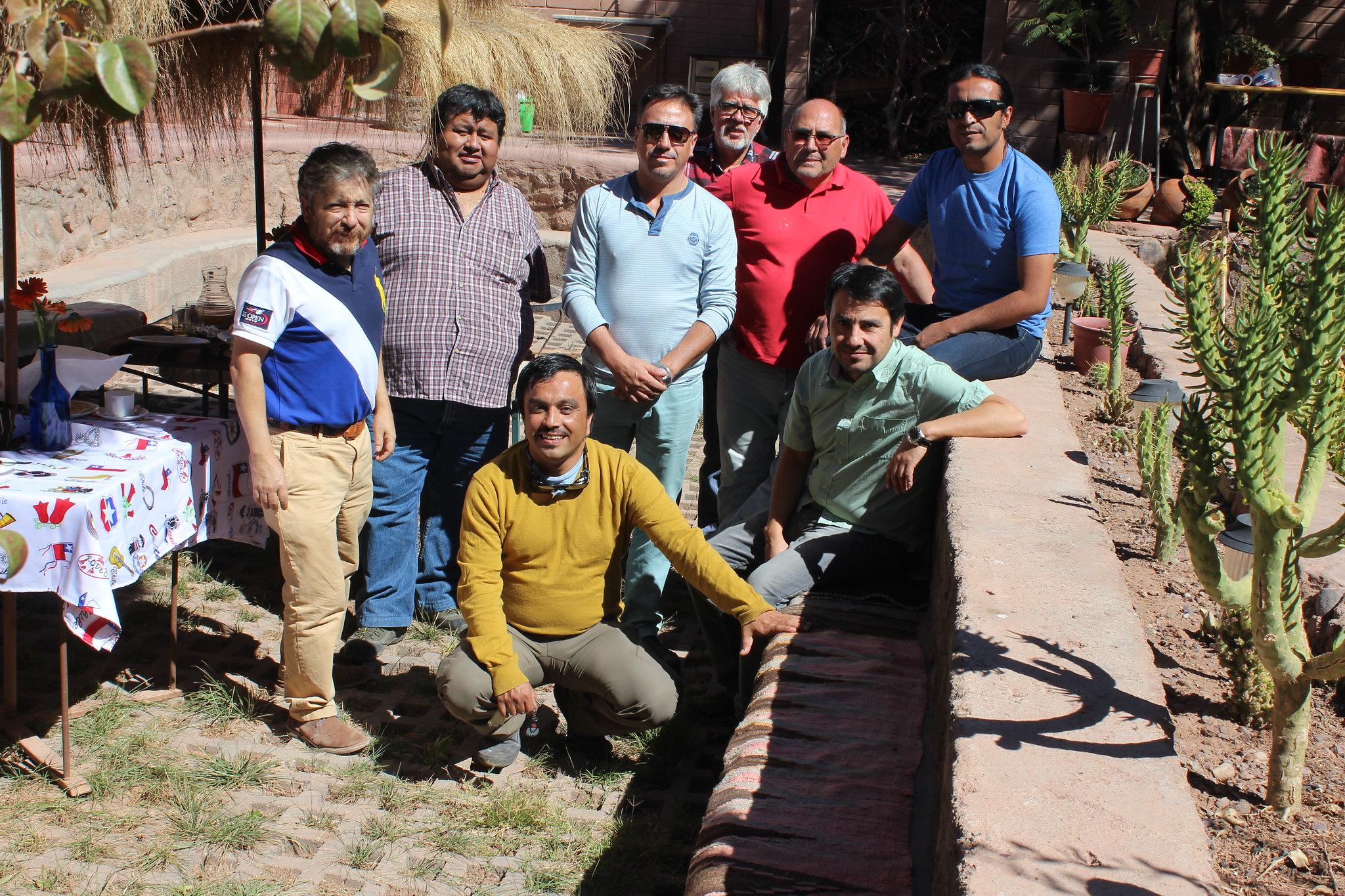 Reunión de Dirigentes AFSAG Zona Norte - Abril 2015