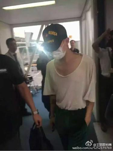 BIGBANG arrival Wuhan 2015-06-26 002