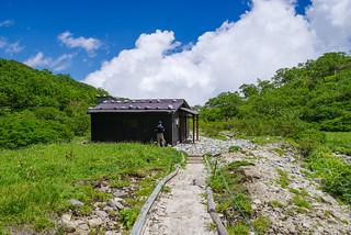 空木平の避難小屋