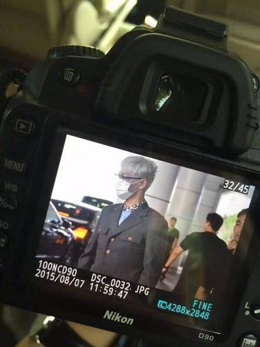 BIGBANG lArrival Shenzhen from Seoul 2015-08-07 022