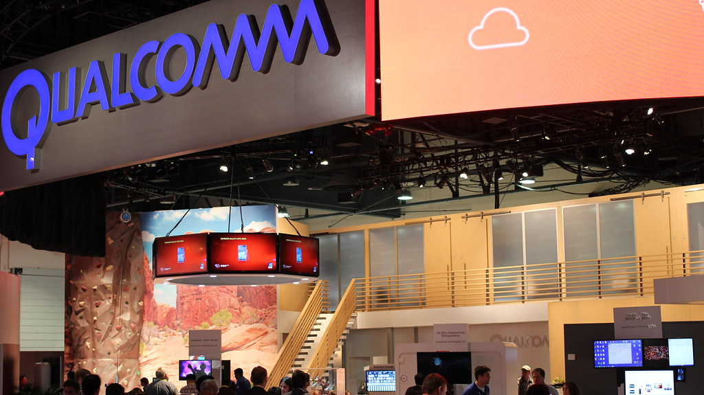CES 2015 Qualcomm's Booth
