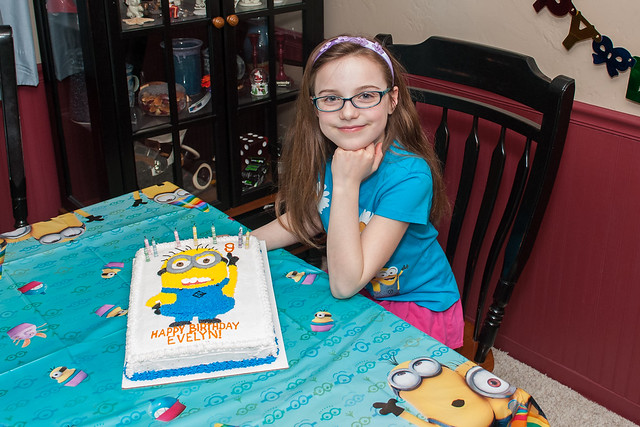 Ninth Birthday Cake