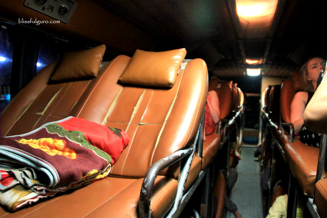 Cambodia Sleeper Bus