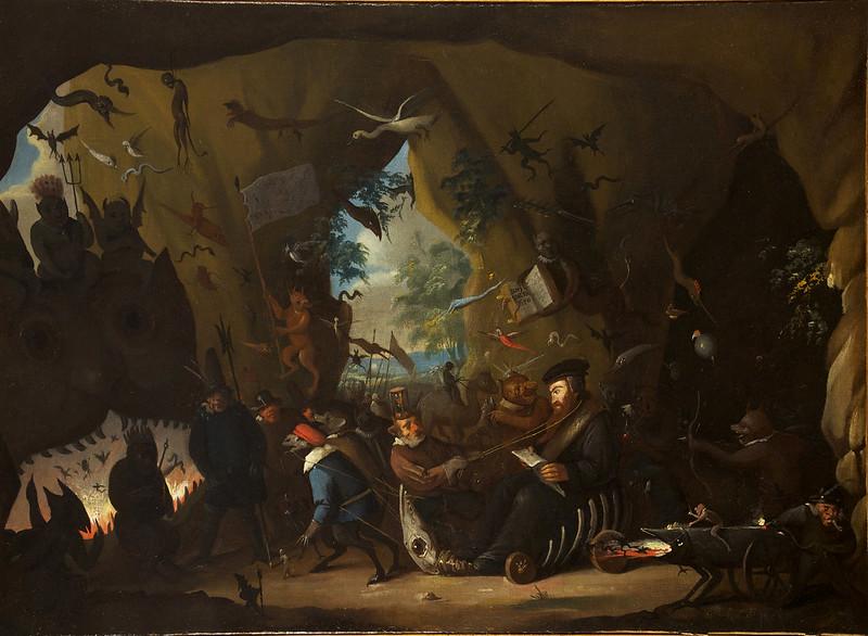 Egbert II van Heemskerck - Calvin in Hell, 1700-10