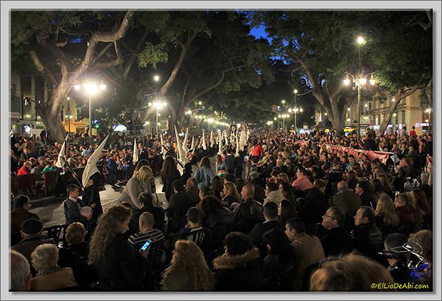 Semana Santa en Málaga. La Alameda y Calle Larios (3)