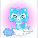 Cloud Crystal Cat by fuish