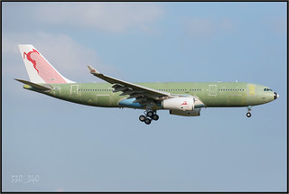 A332  Tunisair  - TS-IFM(F-WWKR)  - sn 1631  /  5735