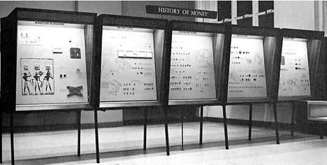 Smithsonian History of Money exhibit