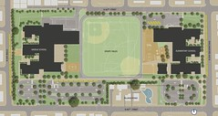 Site Plan for New Middle School and Elementary School:  Wilson-Pacific Site, Seattle Public Schools