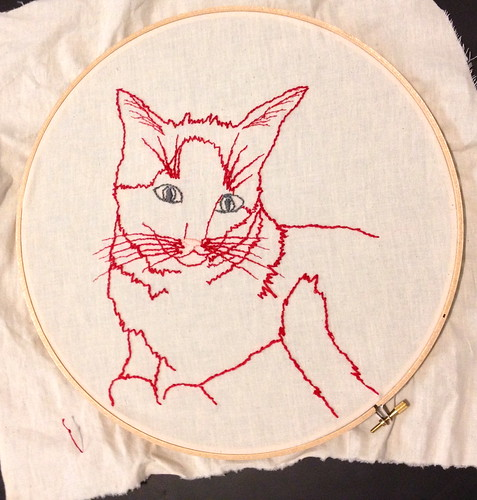 Drawing with Embroidery