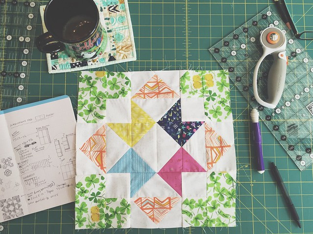 Marching on quilt block planning