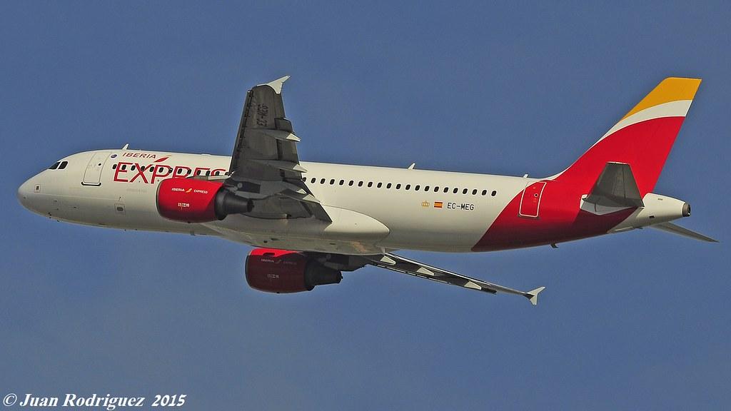 EC-MEG - A320 - Iberia Express