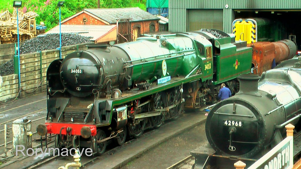 Southern Railway 34053 'Sir Keith Park' at Bridgnorth