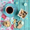 morning tea .  .