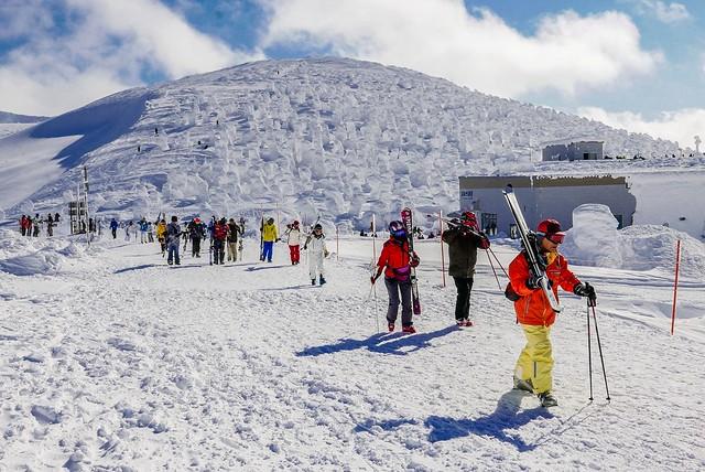 【日本旅遊】【東北-山形】一生必訪-藏王樹冰+藏王溫泉區