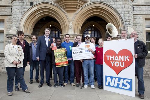 NHS campaigning - Ealing