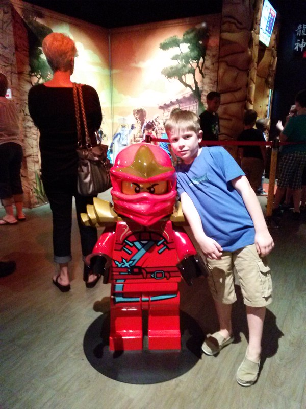 NINJAGO Training LEGOLAND Discovery Center DFW