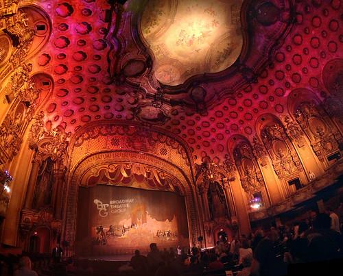 losangelestheatre losangeles la downtown historiccore 1931 theater theatre baroque ceiling explored