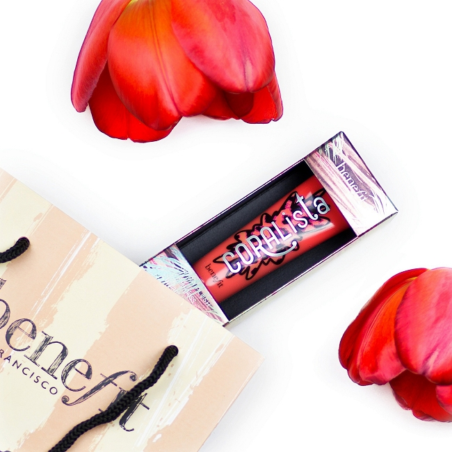 Instagram, Monatsrückblick April, benefit CORAliste Lipgloss
