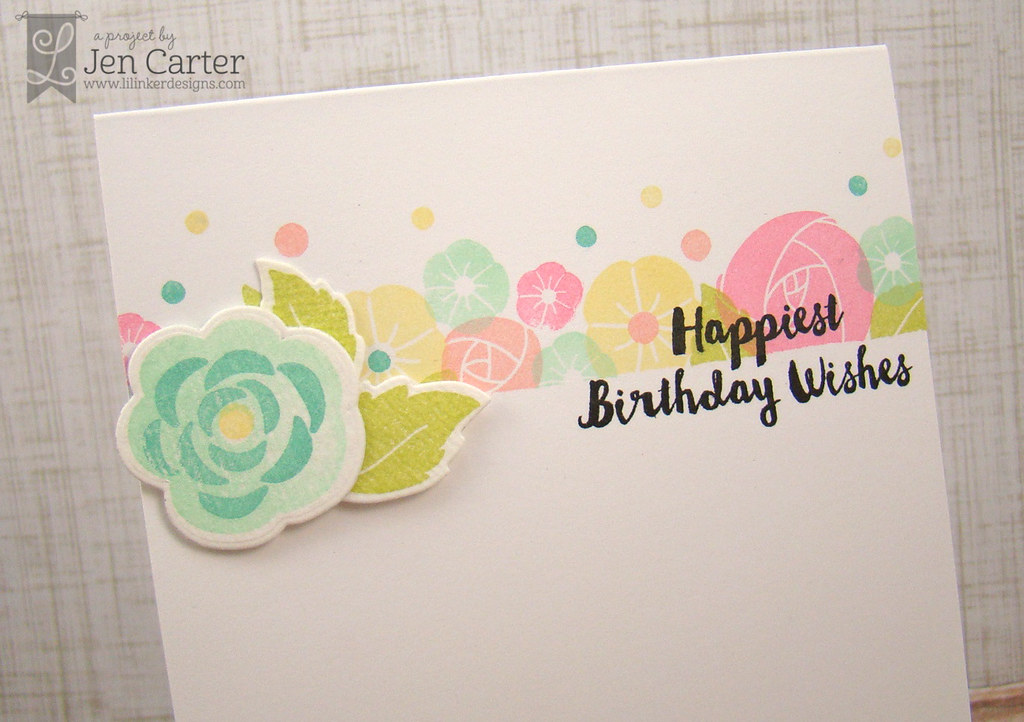 Jen Carter Awesome Blossom Birthday Wishes Closeup1