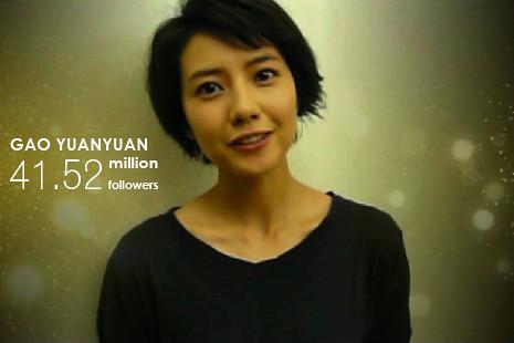 Gao Yuanyuan backs the fight against bear bile farming