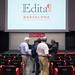 Bienvenida y explicación de las sesiones. Sesión inaugural con Richard Charkin y Daniel Fernández. 7 de julio de 2016