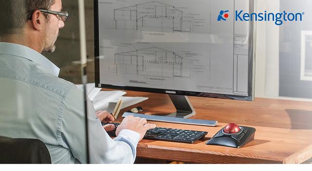Kensington K72359 Expert Mouse® Wireless 專業無線軌跡球滑鼠 2