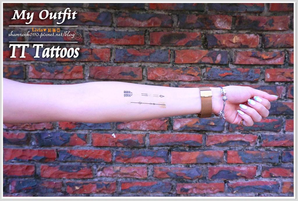 TT Tattoos金屬紋身貼 - 25