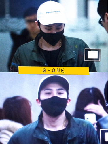 G-Dragon - Gimpo Airport - 02mar2015 - G-One - 01