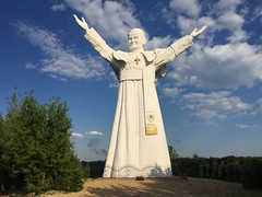 John Paul II. The largest pope statue in the world (3)