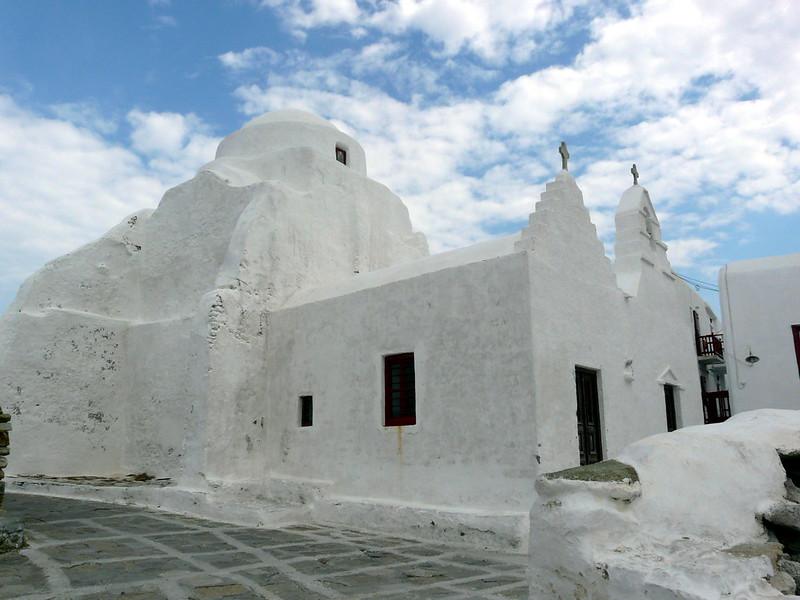 L'église de la Panaghia Paraportiani