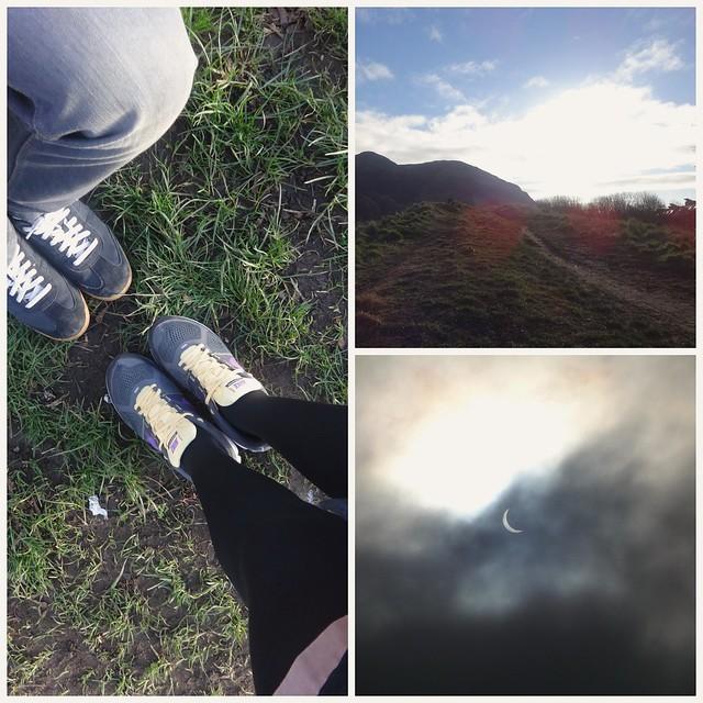 Solar eclipse in Edinburgh 2015