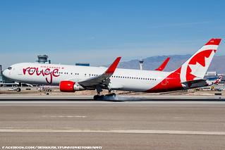 Air Canada Rouge 767
