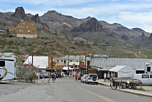arizona usa oatman oldtowns cowboytowns