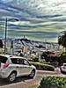 Lombard Street #sf sanfrancisco #coittower