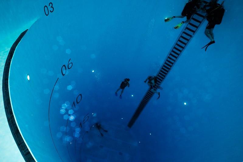 Quand une montre de plongée sert à son usage d'origine 16555020507_f2dc942622_c